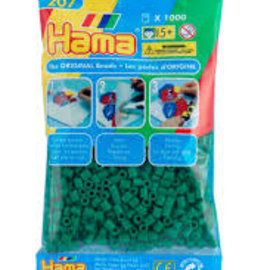 Hama Hama Strijkkralen groen ( 1000 st)