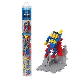 Plus-Plus Mini Basic Plus-Plus Buis Superheld: 100 stuks
