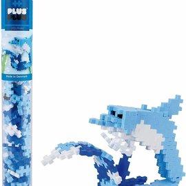 Plus-Plus Mini Basic Plus-Plus Buis Dolfijn: 100 stuks