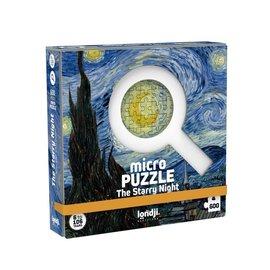 Londji Londji Micro puzzel - The Starry Night (600 stukjes)