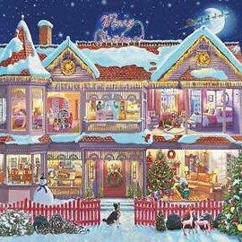 Eurographics Eurographics puzzel Getting Ready for Christmas (1000 stukjes)