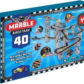 Marble Racetrax Marble Racetrax 6 meter - 40 bouwkaarten - Circuit set