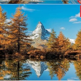 Educa Educa puzzel Matterhorn Mountain in Autumn (1000 stukjes)