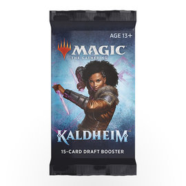 Magic The Gathering Magic The Gathering - Kaldheim 15-Card Draft Booster
