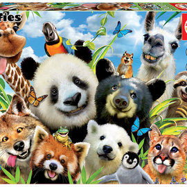 Educa Educa puzzel Llama drama selfie (1000 stukjes)