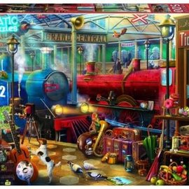 Educa Educa  puzzel Station (500 stukjes)