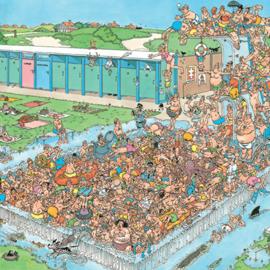 Jumbo Jan van Haasteren - Bomvol bad (1000 stukjes)
