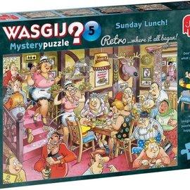 Jumbo Wasgij puzzel Mystery 5 Retro - Zondagse lunch! (1000 stukjes
