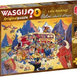 Jumbo Wasgij puzzel Original 5 Retro - Last-minute booking! (1000 stukjes)