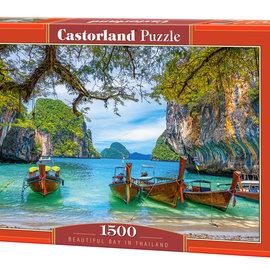 Castorland Castorland puzzel Beautiful Bay in Thailand (1500 stukjes)