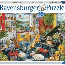 Ravensburger Ravensburger puzzel De muziekkamer (500 stukjes)