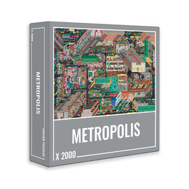 Cloudberries Cloudberries puzzel Metropolis (2000 stukjes)
