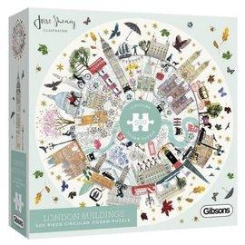 Gibsons Gibson puzzel  Buildings of London (500 stukjes)
