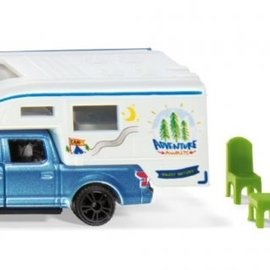 Siku Siku 1693 Ford F150 Pick-Up Camper