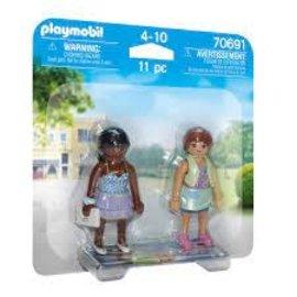 Playmobil Playmobil -  Duopack Winkelende meiden  (70691)