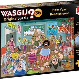 Jumbo Wasgij puzzel Original 36 - Goede voornemens (1000 stukjes)