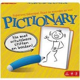 Mattel Pictionary Board Game - Dutch