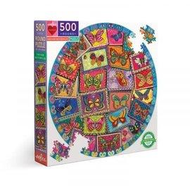 Eeboo EEBOO - Vintage Butterflies (500 stukjes)
