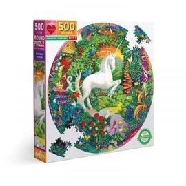 Eeboo EEBOO - Unicorn Garden (500 stukjes)