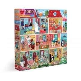 Eeboo EEBOO - Koala House Party (1000 stukjes)