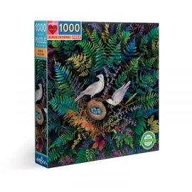 Eeboo EEBOO - Birds in Fern (1000 stukjes)