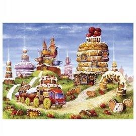 Tucker's Fun Factory Davici Houten Puzzel De Koekjesbaan, Dimitri Alexeev (170)