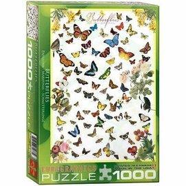 Eurographics Eurographics puzzel Butterflies (1000 stukjes)