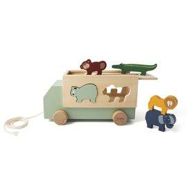 Trixie Baby Trixie Baby houten dierentruck