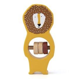 Trixie Baby Trixie Baby houten rammelaar Mr. Lion