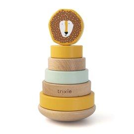 Trixie Baby Trixie Baby houten stapeltoren Mr. Lion