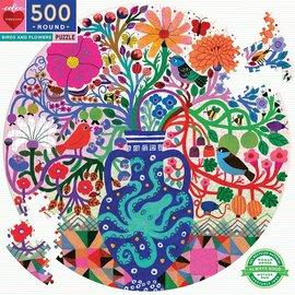 Eeboo EEBOO - Birds and Flowers (500 stukjes)
