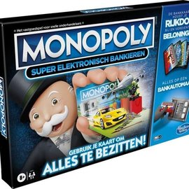 Hasbro Hasbro Monopoly: Super Electronisch Bankieren