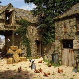 Wentworth Wentworth houten puzzel - Farmyard Scene - Edward Hersey (40 stukjes)
