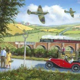 Wentworth Wentworth houten puzzel - Spitfires - Derek Roberts (40 stukjes)