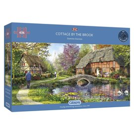 Gibsons Gibsons puzzel Cottage by the Brook (636 stukjes)