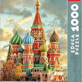 Educa Educa puzzel Kathedraal de São Basilio, Moskou (1000 stukjes)