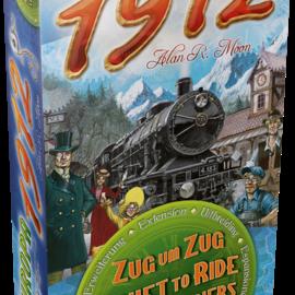 Days of Wonder Ticket to Ride Europe 1912 (uitbreiding)