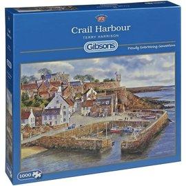 Gibsons Gibsons puzzel Crail Harbour (1000 stukjes)