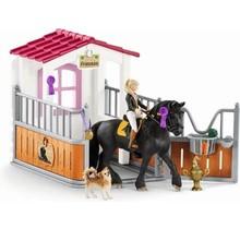 Schleich 42437 Paardenbox Tori en Prinses