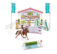 Schleich 42440 Vriendschappelijke paardenwedstrijd