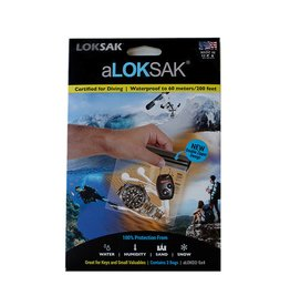 Loksak Bags: Set of Two 5 x 4