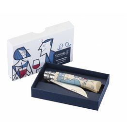 "Opinel N 08 ""France!"" Edition by Ale Giorgini"