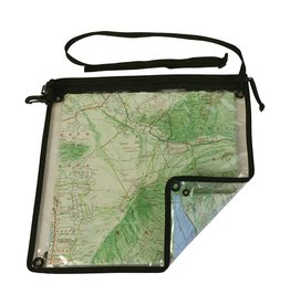 Loksak SPLASHSAK Clear Map Case 12 x 12