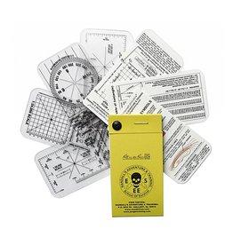 ESEE Pocket Nav Card Set with Notebook