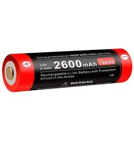 Klarus 2600 MA 18650 Rechargable Lithium Ion Battery