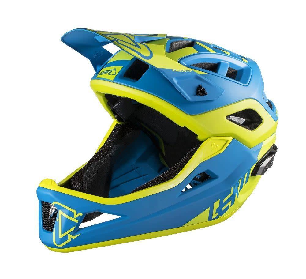 Leatt Helmet DBX 3.0 Enduro Blue/ Lime L 59-63cm