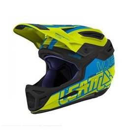 Leatt Helmet DBX 5.0 V12 Lime/ Blue XL 61-62cm