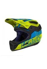 Leatt Helmet DBX 5.0 V12 Lime/ Blue M 57-58cm