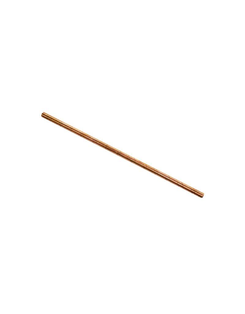 Copper Straws
