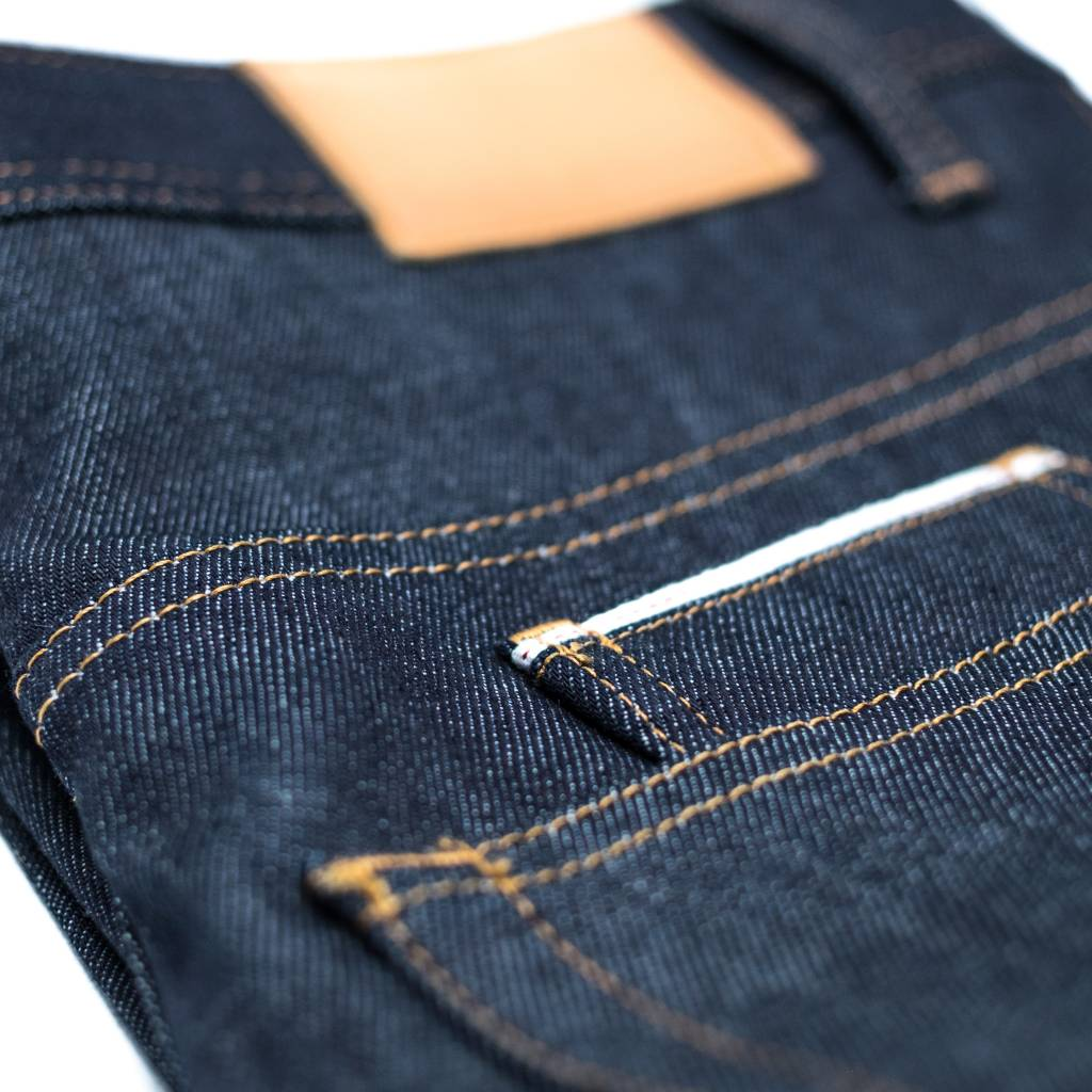 Real + Simple Antifit Raw Selvedge Jeans
